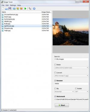 Enlarge Image Tuner Screenshot