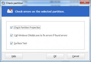 Enlarge EASEUS Partition Master Professional Screenshot