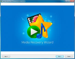 Enlarge Media Recovery Wizard Screenshot
