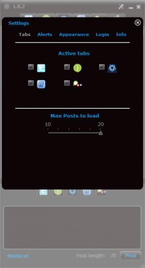 Enlarge Posty Screenshot