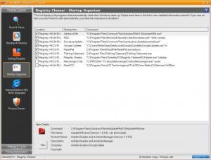 Enlarge CleanMyPC Registry Cleaner Screenshot