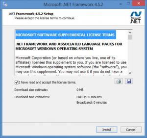 Enlarge Microsoft .NET Framework Screenshot