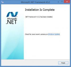 Enlarge Microsoft .NET Framework Screenshot
