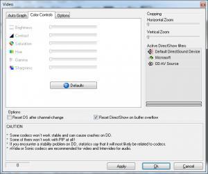 Enlarge DVB Dream Screenshot
