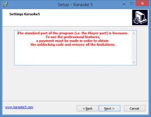 Enlarge Karaoke 5 Screenshot
