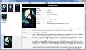 Enlarge Ant Movie Catalog Screenshot