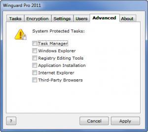 Enlarge WinGuard Pro Screenshot
