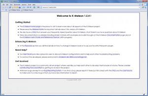 Enlarge K-Meleon Screenshot