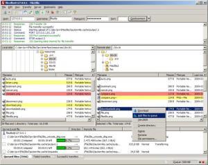 Enlarge FileZilla Server Screenshot