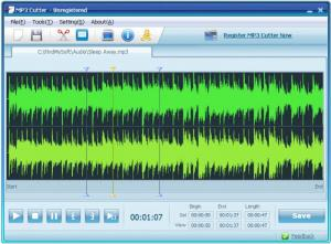 Enlarge MP3 Cutter Screenshot