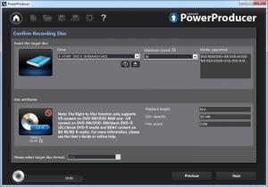Enlarge CyberLink PowerProducer Screenshot