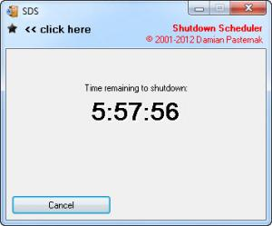Enlarge SDS Shutdown Scheduler Screenshot