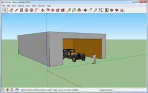 Enlarge SketchUp Make Screenshot