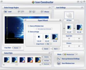 Enlarge Icon Constructor Screenshot