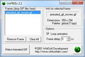 Enlarge UnFREEz Screenshot