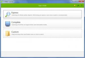 Enlarge Dr.Web Anti-virus Screenshot