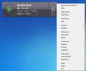 Enlarge Fennec Player Screenshot