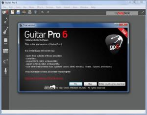 Enlarge Guitar Pro Screenshot