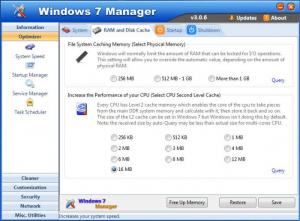 Enlarge Windows 7 Manager Screenshot