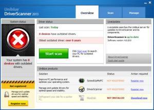 Enlarge DriverScanner Screenshot