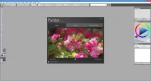 Enlarge Corel Painter Screenshot