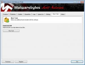 Enlarge Malwarebytes Anti-Malware Free Screenshot