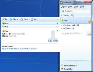 Enlarge Digsby Screenshot