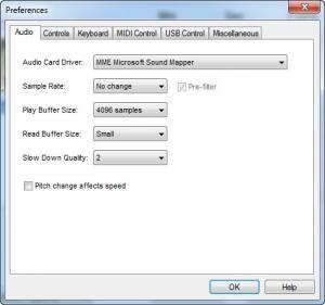 Enlarge Amazing Slow Downer Screenshot