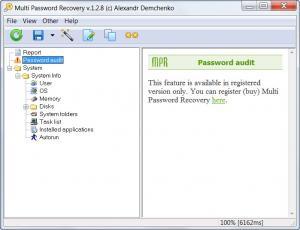 Enlarge Multi Password Recovery Screenshot