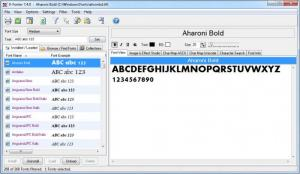 Enlarge X-Fonter Screenshot