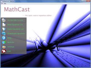 Enlarge MathCast Screenshot
