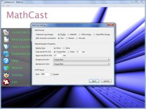 Enlarge MathCast Screenshot