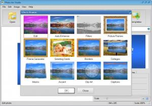 Enlarge Photo Art Studio Screenshot