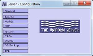Enlarge The Uniform Server Screenshot