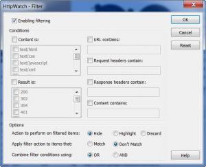 Enlarge HttpWatch Basic Edition Screenshot