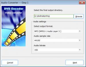 Enlarge My DVD Maker Screenshot