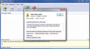 Enlarge Hide Folders 2009 Screenshot