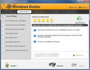 Enlarge Windows Doctor Screenshot