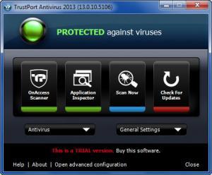 Enlarge Trustport Antivirus Screenshot