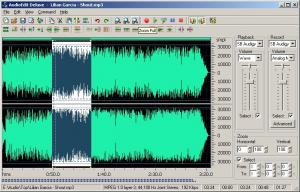 Enlarge AudioEdit Deluxe Screenshot