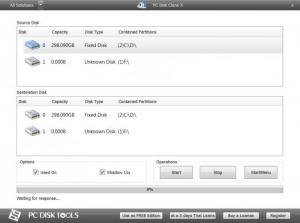 Enlarge PC Disk Clone X Free Screenshot