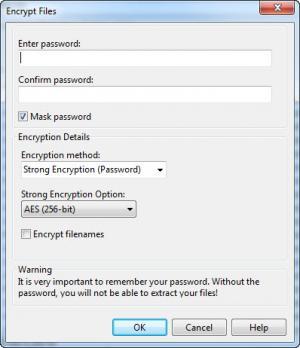 Enlarge ZipX Screenshot