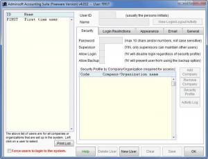 Enlarge Adminsoft Accounts Screenshot