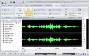 Enlarge Power Sound Editor Free Screenshot