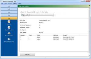 Enlarge gBurner Screenshot