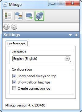 Enlarge Mikogo Screenshot