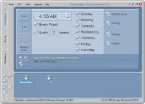 Enlarge Talking Alarm Clock Screenshot