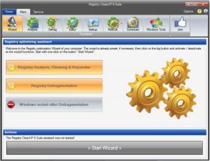 Enlarge Registry CleanUP Screenshot