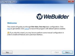 Enlarge WeBuilder Screenshot