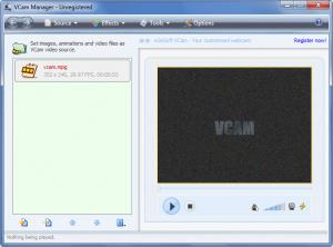Enlarge e2eSoft VCam Screenshot